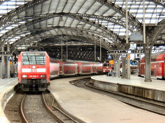 Rode DB station Köl…